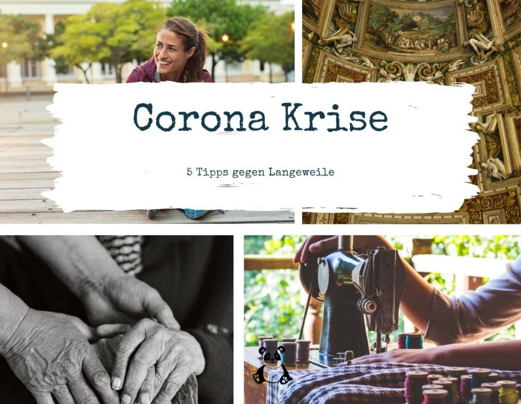 Corona - Beschäftigungstipps