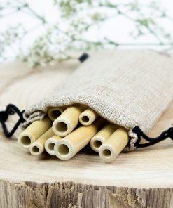 Bambus Trinkhalme 10er (1)