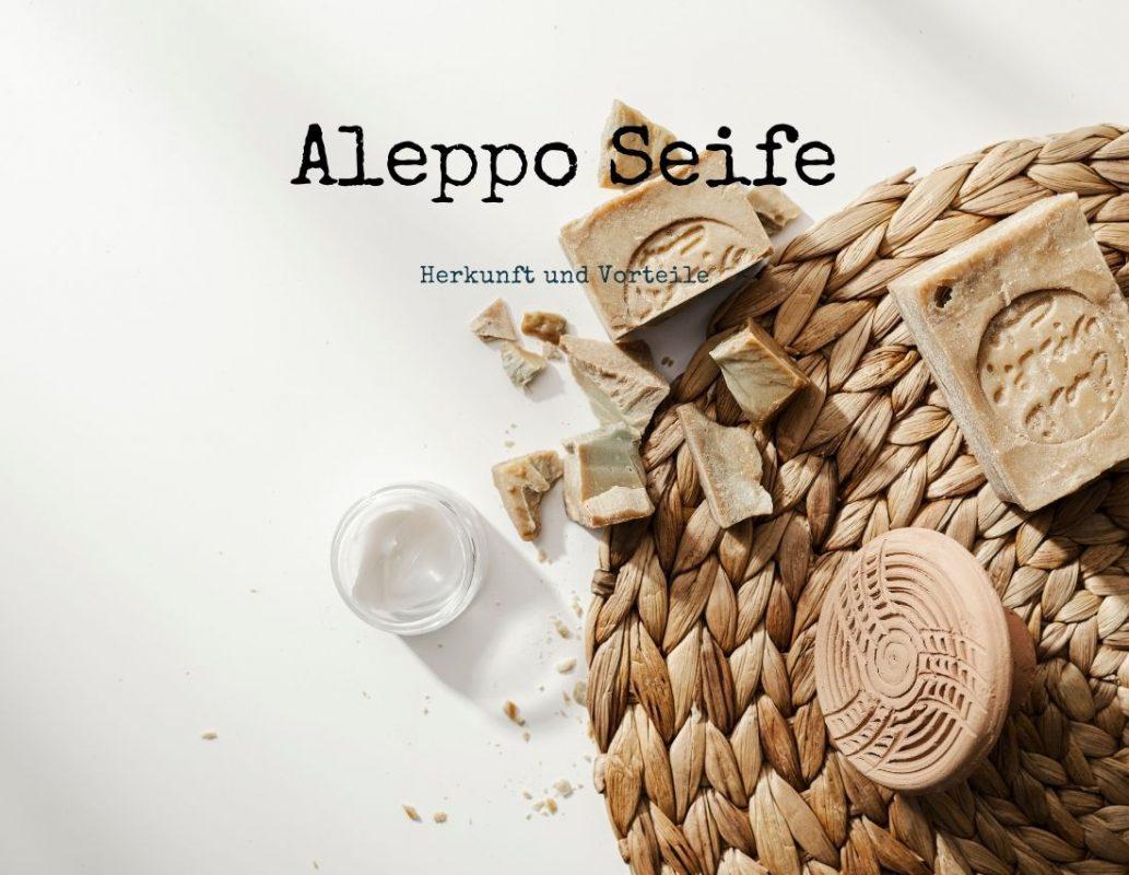 Aleppo Seife Grüne Valerie